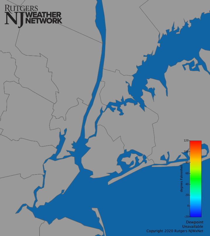 New York City Dew Point | New Jersey Weather and Climate Network