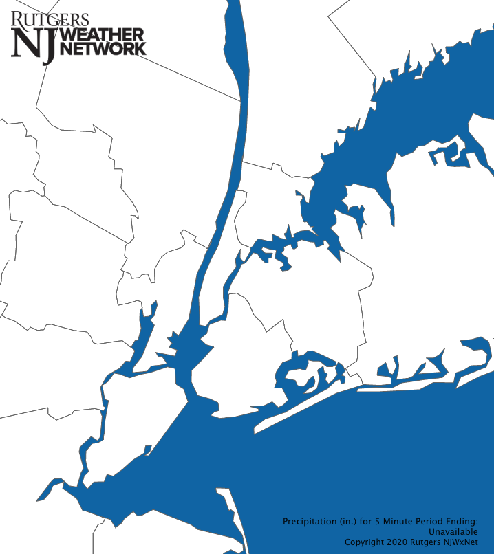 New York City Precipitation Map