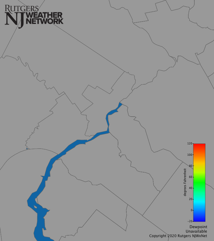 Philadelphia Dew Point | New Jersey Weather and Climate Network
