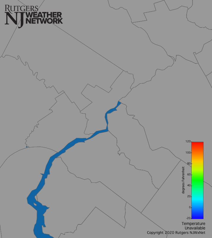 Philadelphia Temperature Map